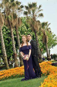 Düğün fotoğrafları dış çekim